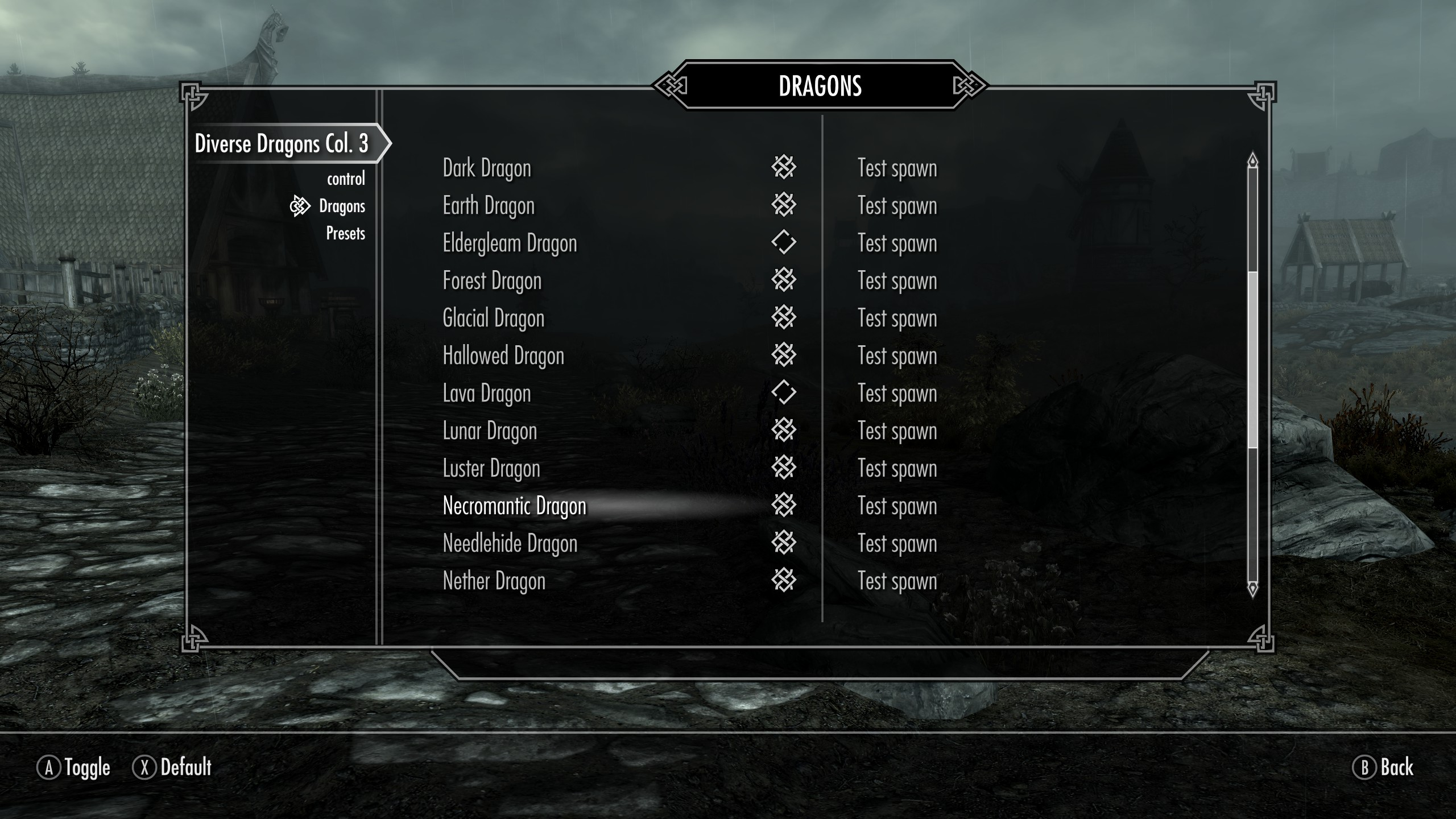 Diverse Dragons Collection 3 & SE now have a Config Menu