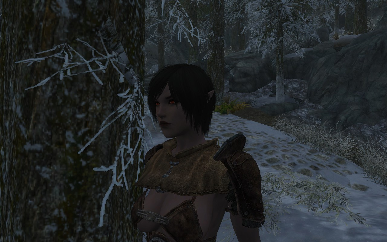 Uma A Dunmer Preset At Skyrim Nexus Mods And Community