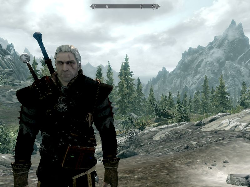 wus witcher race v05 at skyrim nexus mods and community