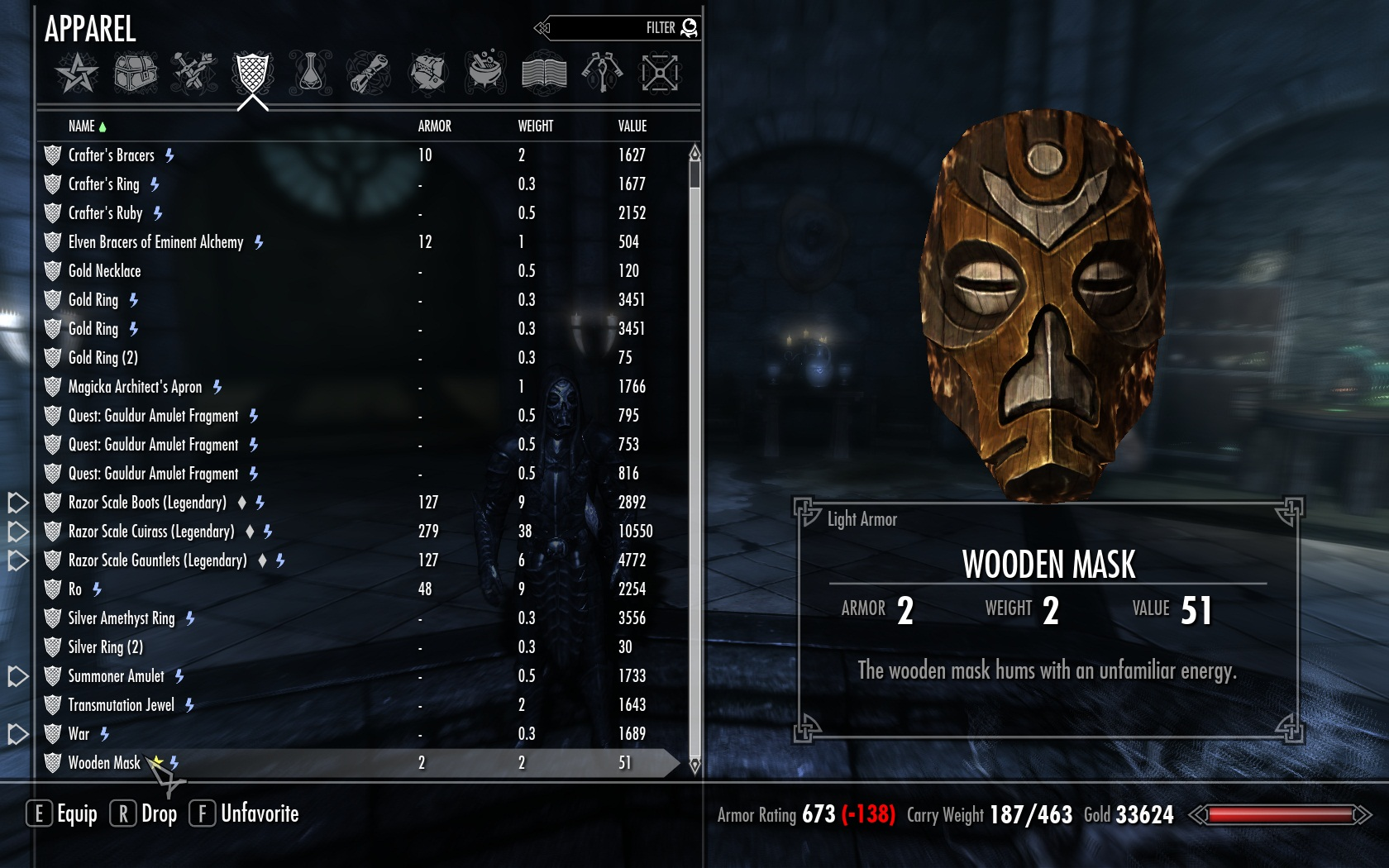 Bromjunaar and the Wooden Mask at Skyrim Nexus - mods and ...