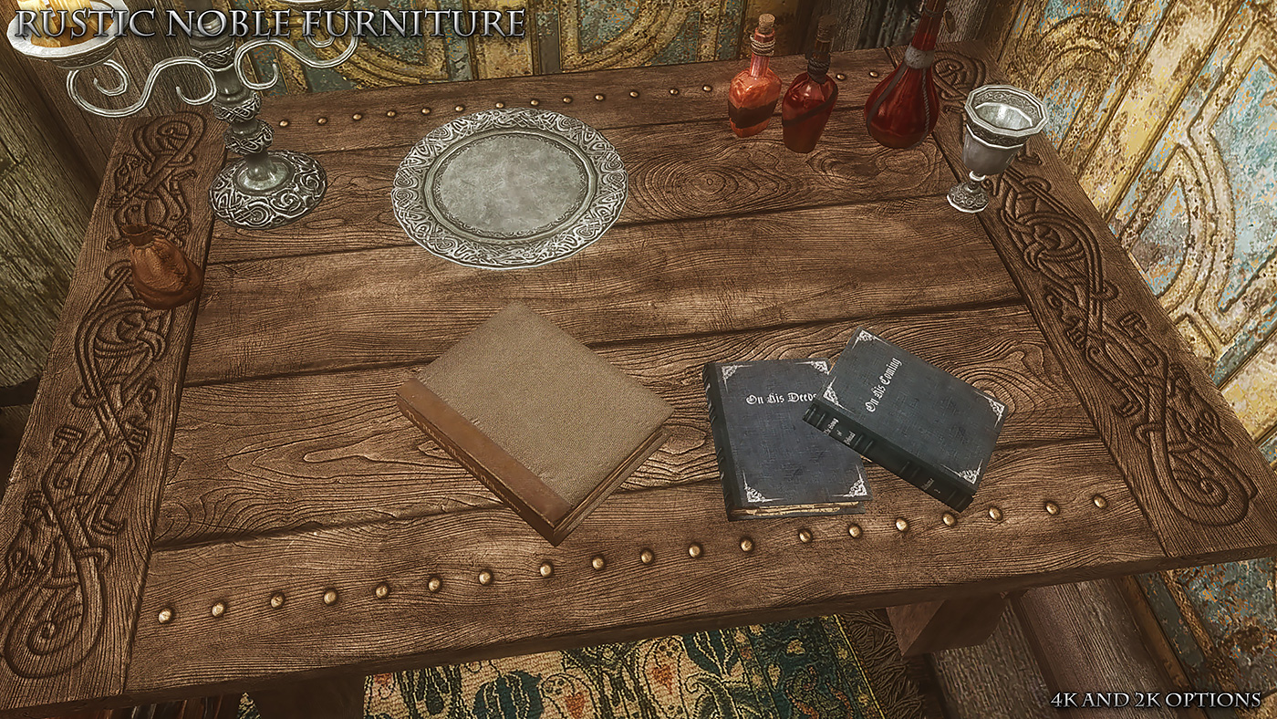 Rustic Furniture Special Edition At Skyrim Special Edition Nexus Mods And Community