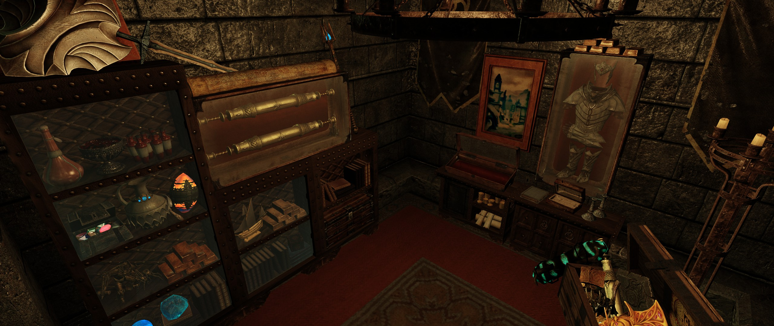 Fort Dawnguard Player Room Overhaul At Skyrim Nexus Mods