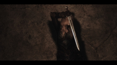 Eowyn with Ancient Nord Sword