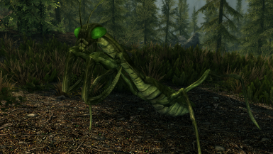 Giant Mantis - Mihail Monsters and Animals (mihail oldrim mod)