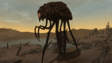 Silt Striders - Mihail Monsters and Animals (mihail oldrim mod)