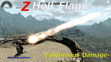 Z Hell Flame -Continuous Damage-