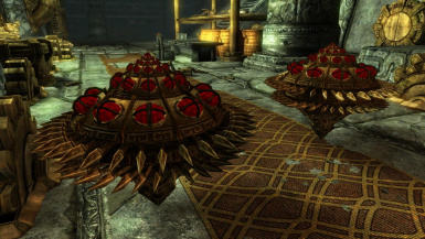 Dwarven Spinners- Mihail Monsters and Animals (mihail oldrim mod)