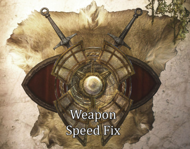 Weapon Speed Fix