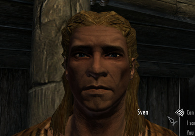 Sven with Living Eyes