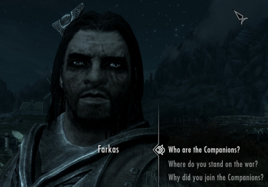 Farkas with Living Eyes