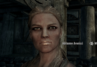 Adrianne Avenicci with Living Eyes