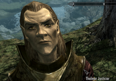 A Thalmor with Living Eyes
