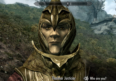 Another Thalmor with Living Eyes