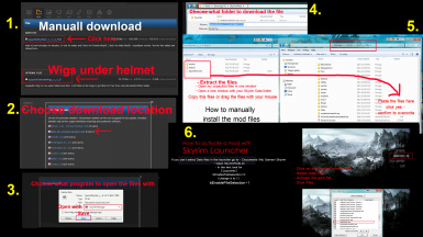 How to manually download and install