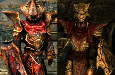 Temple Watchman and Ter-Hus Bonemold Style Armors- Mihail Armors and Clothes (mihail oldrim mod)