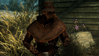Toxin Doctor Outfit- Mihail Armors and Clothes (mihail oldrim mod)