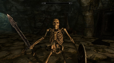 Remove bright eyes from skeletons and draugr