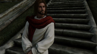 Jesus in skyrim replacer