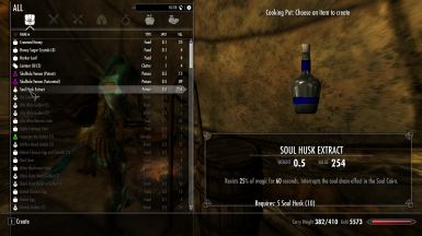 Craftable Soul Husk Extract