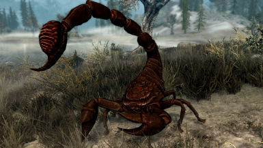 Giant Scorpions - Mihail Monsters and Animals (mihail oldrim mod)
