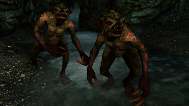 Ghouls- Mihail Monsters and Animals (mihail oldrim mod)