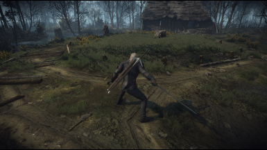 E3 Witcher 3 Dodge Animations