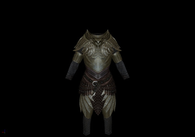 Gilded Elven Armor Complete