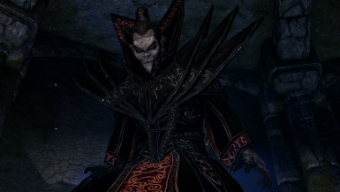 Necromaster Robes- Mihail Armors and Clothes (mihail oldrim mod)