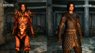 Immersive Armors - Realistic Armors replace