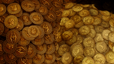 Updated Coin Pile vs Vanilla