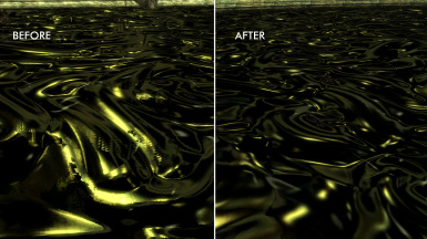 Water comparison - Much better now