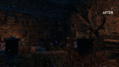Windhelm cementery after