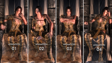 Jarl Sitting Animations