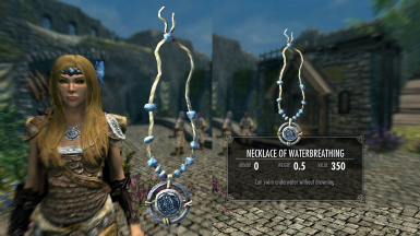 Optional Necklace of WaterBreathing