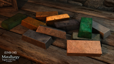 Metallurgy - Ingots Ore and Veins HD