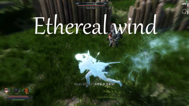 Ethereal wind (Become ethereal replacement mod)
