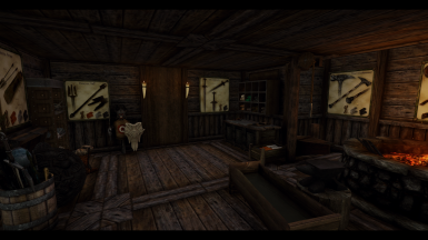 Forge and Crafting Area