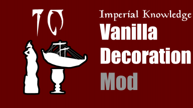 Imperial Knowledge Vanilla Decorations Mod