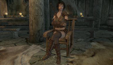 Female Sitting Animation Replacer
