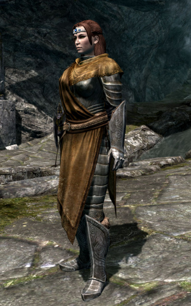 Female WarMage Robe Armor