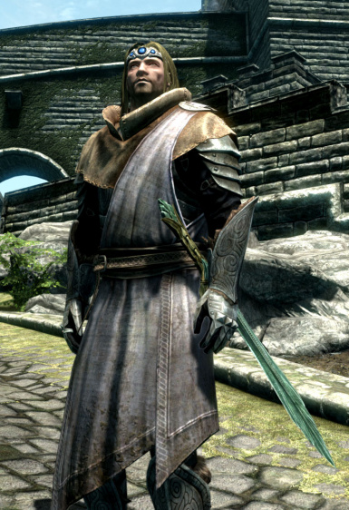 Male Vigilant of Stendarr Robe Armor