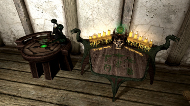 Retextured Mage Tables LE