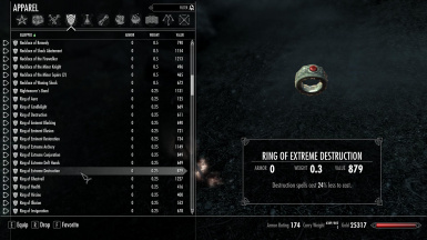 Skyrim Unlimited Rings And Amulets PT BR