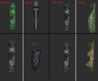 Elemental Arrows _ Quiver Replacer