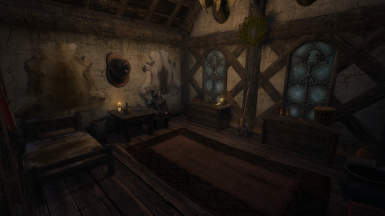 The Four Shields Tavern Interior - Player Room