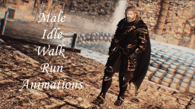 Leviathan Animations - Male Idle Walk And Run LE