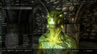 Argonian Creation