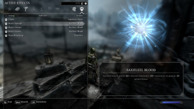 Argonian Passive Ability - Saxhleel Blood