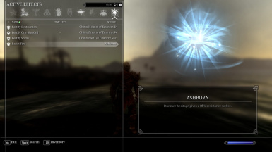 Dark Elf Passive Ability - Ashborn
