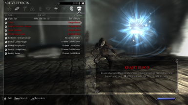 Khajiit Passive Ability - Khajiit Blood